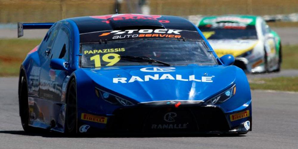 Ranalle está patrocinando Felipe Papazissis na Stock Light